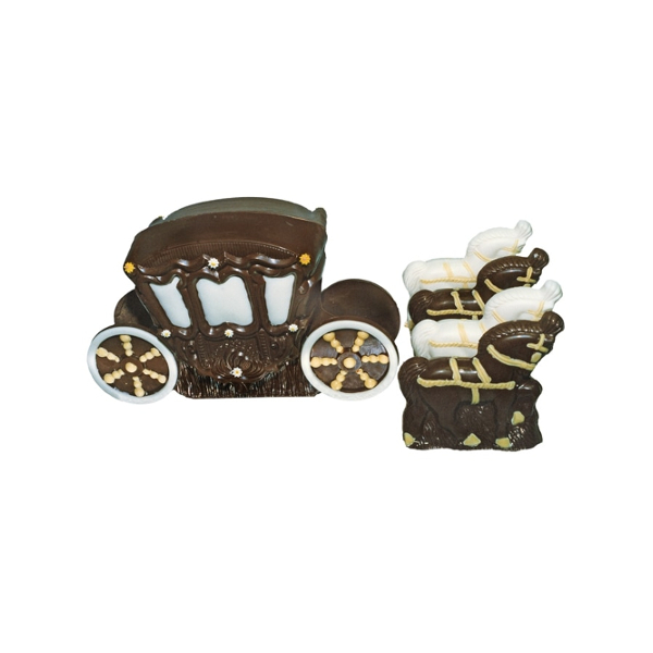 marriage carriage chocolate