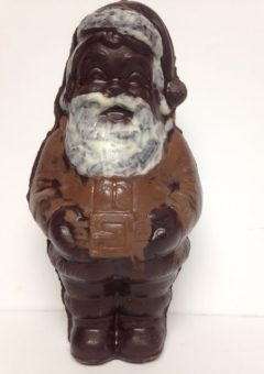 santa clause chocolate
